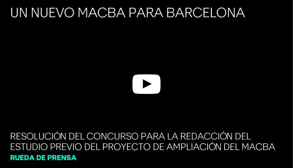 Resolución del concurso de ampliación del MACBA