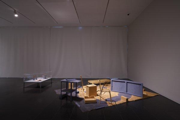 """Vistas de """"En tiempo real. La Colección Rafael Tous de arte conceptual"""". Foto: Miquel Coll"""