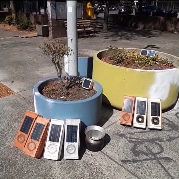 Peter Blasser's Solar Sounders