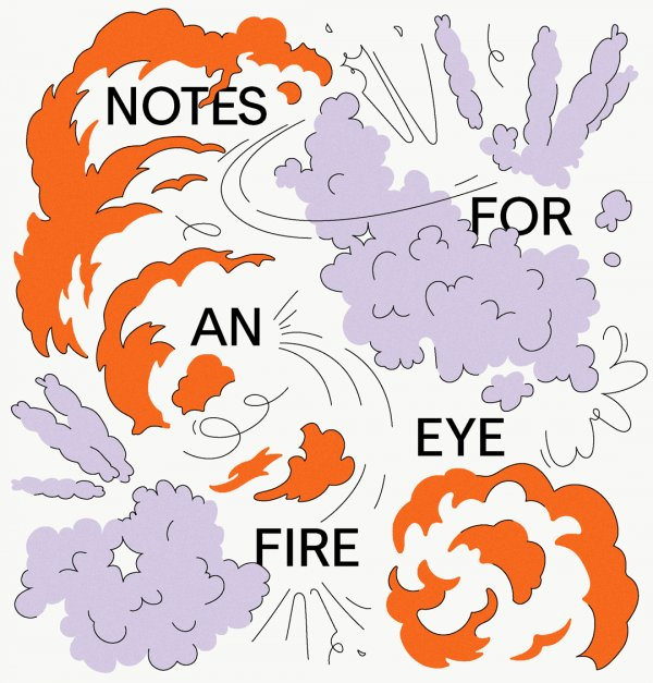Graphic identity of Panorama and Notes for an Eye Fire, 2021