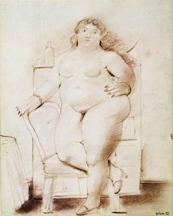 Botero : aquerelles, dessins, sculptures / Galerie Beyeler