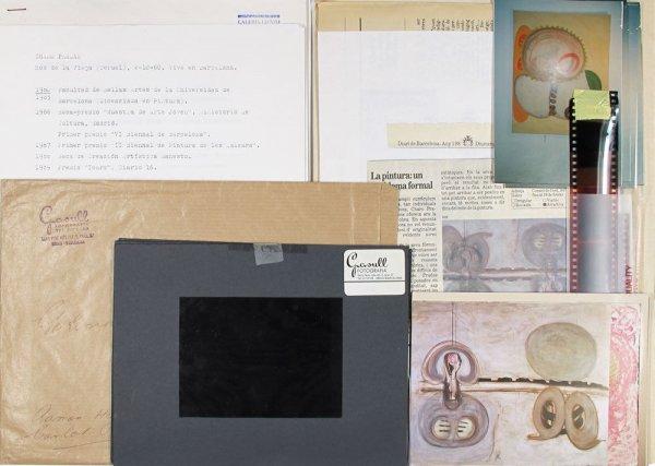 [Conjunt de documents relacionats amb l'artista Charo Pradas]