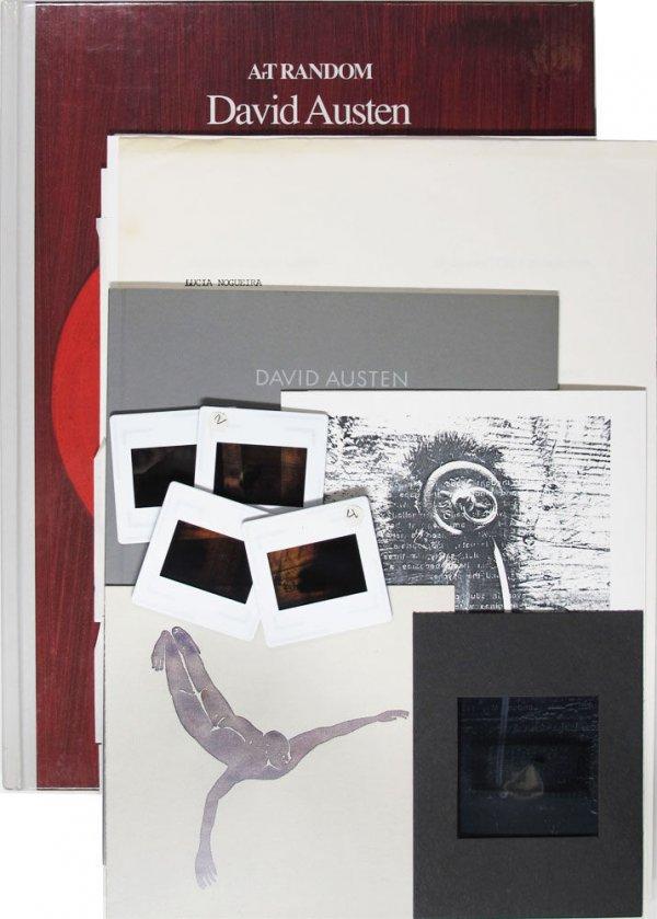 """[Conjunt de documents relacionats amb l'exposició col·lectiva """"Dibujos"""" celebrada a la Galeria Ciento]"""
