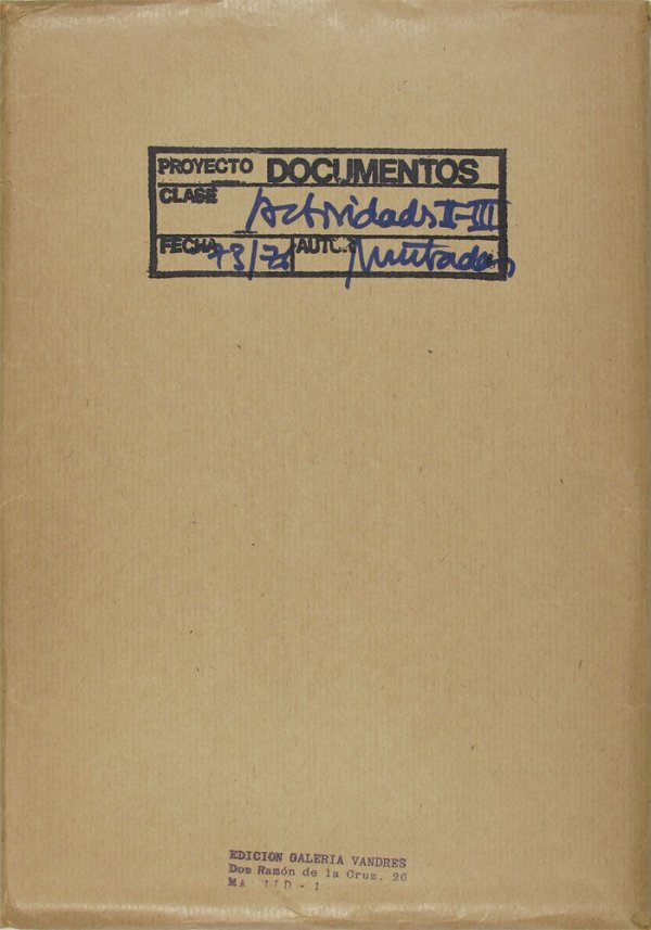 Proyecto Documentos : actividades II-III