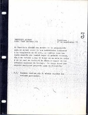 Carta : Barcelona, 1973 set. 27