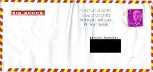 Carta : [Madrid], a Antoni Mercader, Barcelona, 1973 març 15