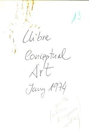Llibre conceptual Art