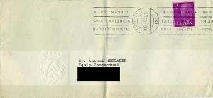 Carta : Barcelona, a Antoni Mercader, Barcelona,  1973 nov. 30