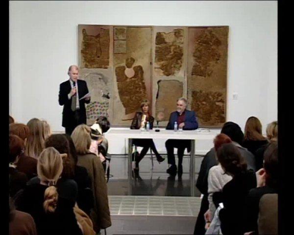 Col·lecció. Converses a les sales. Josep Guinovart i Lourdes Cirlot [Enregistrament audiovisual activitat]