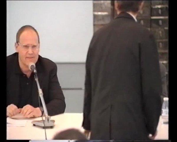 Col·lecció. Converses a les sales. Christian Boltanski i Jörg Zutter [Enregistrament audiovisual activitat]