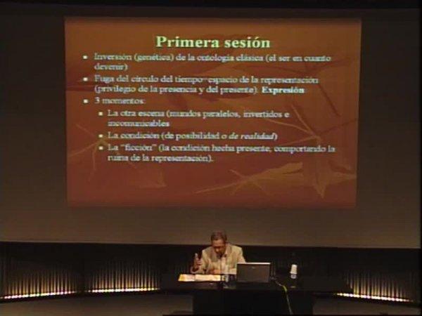 Invertir el platonisme  -- Cos sense òrgans: el gest filosòfic de Gilles Deleuze [Enregistrament audiovisual activitat]