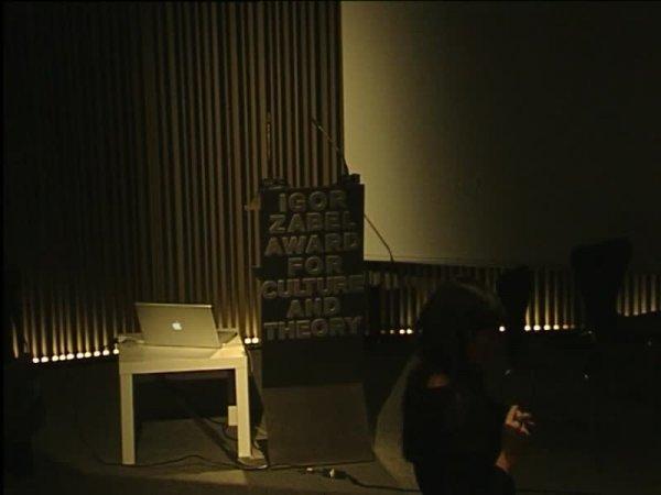 Premi Igor Zabel de Cultura i Teoria 2010 (IZA 2010). Escriure la història de l'art. Diàlegs en el present continu [Enregistrament audiovisual activitat]
