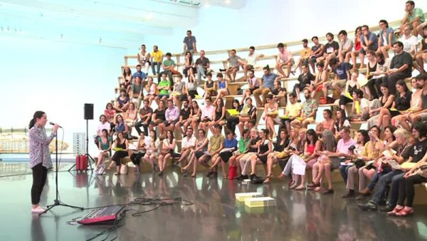 """Laia Estruch -- Blind Dates a """"Arena"""" de Rita McBride [Enregistrament audiovisual activitat]"""