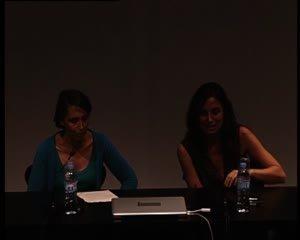 Sexualitat, culpa i el real: Joan Copjec -- Sexualitat, culpa i el real: Alenka Zupančič i Joan Copjec en diàleg [Enregistrament audiovisual activitat]