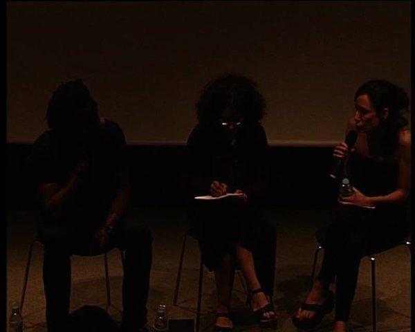 Projecció de The Nine Muses de John Akomfrah. Seguida d'una conversa entre John Akomfrah i María Ruido [Enregistrament audiovisual activitat]