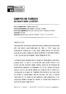 Camps de forces [Dossier de premsa]