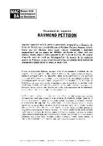 Raymond Pettibon [Dossier de premsa]