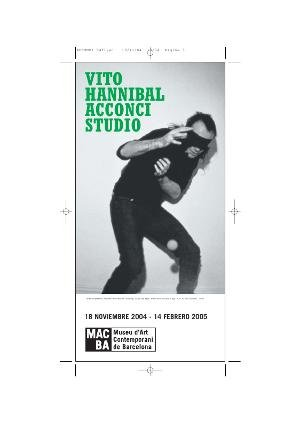 Vito Hannibal Acconci Studio [Flyer]
