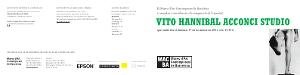 Vito Hannibal Acconci Studio [Invitació]