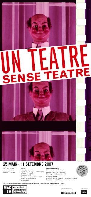 Un teatre sense teatre [Cartell]