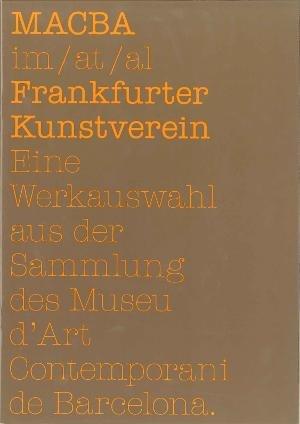 El MACBA al Frankfurter Kunstverein [Publicació]