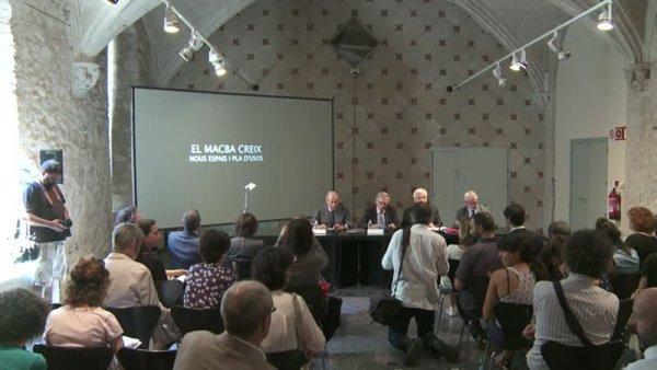 El MACBA creix: nous espais i pla d'usos [Enregistrament audiovisual roda de premsa]