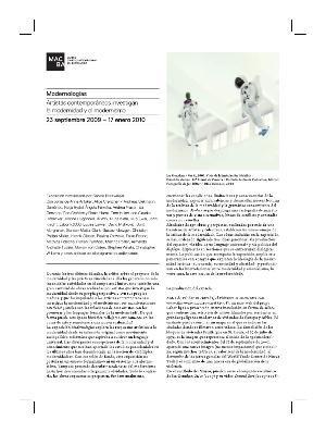 Modernologías. Artistas contemporáneos investigan la modernidad y el modernismo [Full de mà]
