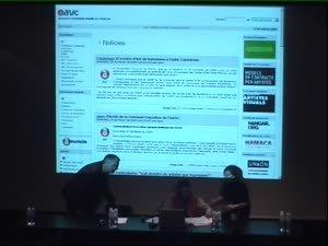 Assamblea Associació Artistes Visuals Catalunya [Enregistrament audiovisual activitat]