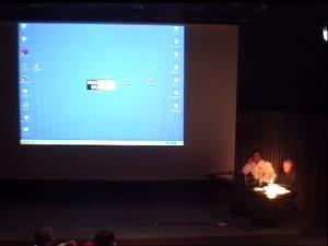 Conferència a càrrec de Michael Snow [Enregistrament audiovisual activitat]