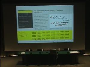 AAVC: una cosa en comú. Debats del 30è aniversari de l'Associació d'Artistes Visuals de Catalunya [Enregistrament audiovisual activitat]