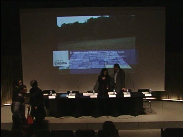 """Presentació de l'exposició """"El museu com a pretext"""" en el marc del programa Cultura en Gira [Enregistrament audiovisual roda de premsa]"""