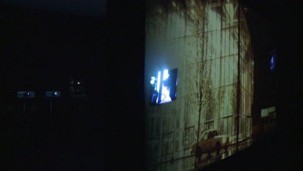 Echo / Judith Barry [Enregistrament audiovisual obra de Col·lecció instal·lada]
