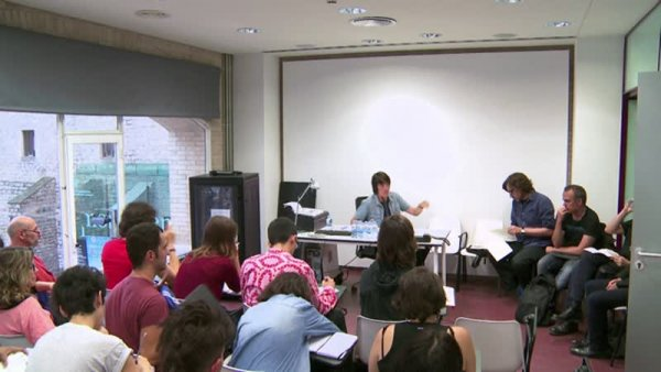 Presentació segon trimestre -- Programa d'Estudis Independents (PEI) 2014-2015 [Enregistrament audiovisual activitat]