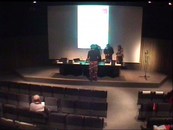 """Presentació projecte """"La comunitat inconfessable"""" del pavelló català a la Biennal de Venècia 2009 [Enregistrament audiovisual activitat]"""
