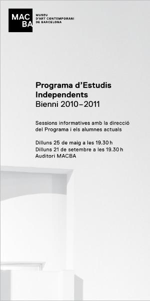 Programa d'Estudis Independents (PEI) 2010-2011 [Invitació]