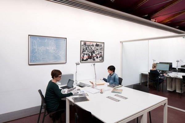 Edifici Centre d'Estudis i Documentació MACBA [Reportatge fotogràfic espais MACBA]