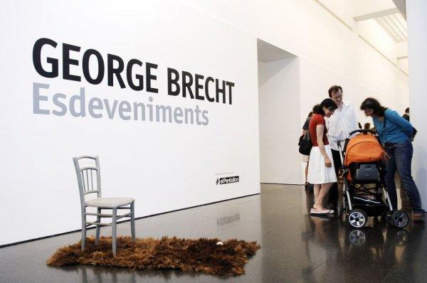 George Brecht. Esdeveniments [Reportatge fotogràfic inauguració exposició]