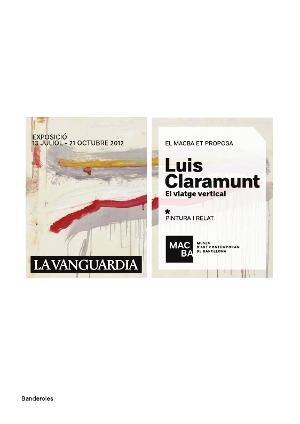 Luis Claramunt. El viatge vertical [Banderola exterior]