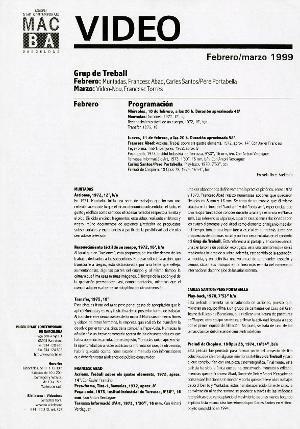 Grup de Treball [Programa activitat]