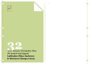 """Quaderns portàtils 32. José Antonio Hernández-Díez. """"No temeré mal alguno"""" [Publicació]"""