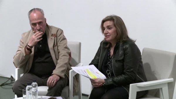 Conversa entre Francesc Torres i Antònia M. Perelló -- Francesc Torres. La campana hermètica. Espai per a una antropologia intransferible [Enregistrament audiovisual activitat]