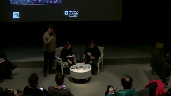 Cuerpos en rebeldía, géneros en disputa -- La dècada de 1990: Rewind & Forward. Cap a una competència pública de l'art. Curs d'art i cultura contemporània [Enregistrament audiovisual activitat]