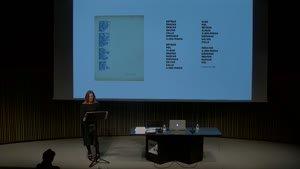 """Rosemarie Castoro 1964-79: """"An obstacle course for a dancer"""" -- Subvertint el minimalisme en el seu propi terreny. Seminari en el context de l'exposició """"Rosemarie Castoro. Enfocar a l'infinit"""" [Enregistrament audiovisual activitat]"""