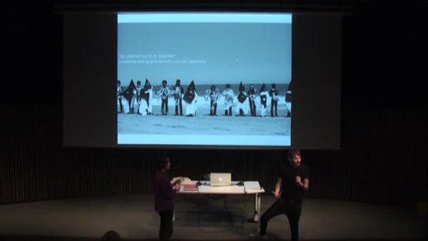 """""""El camino no es el camino"""". Acerca de la poética pedagógica de la Escuela de Valparaíso -- Aprendre a imaginar-se. Sobre pedagogies i emancipació. PEI obert [Enregistrament audiovisual activitat]"""