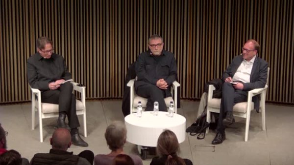 Conversa entre Ferran Barenblit, João Fernandes i Jaume Plensa [Enregistrament audiovisual activitat]