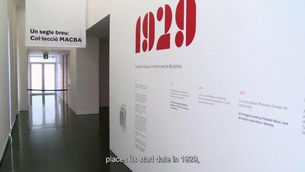 Un segle breu: Col·lecció MACBA [Enregistrament audiovisual exposició]