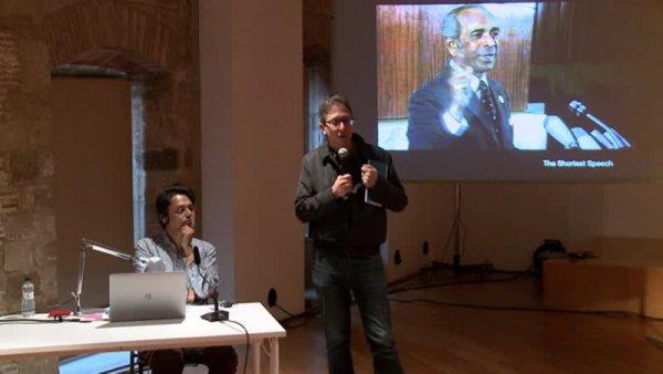 El discurs més breu. Conferència de Naeem Mohaiemen [Enregistrament audiovisual activitat]