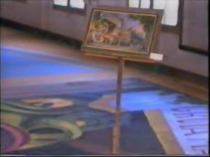 """Noticiari del Centre Dramàtic.  [Assaigs de l'obra """"La pregunta perduda o el corral del lleó"""" de Joan Brossa al Teatre Romea, Barcelona, 1985]"""