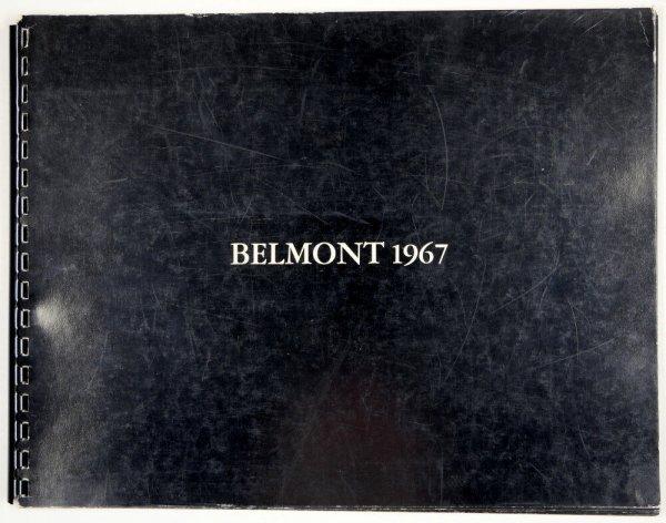 Belmont 1967 / [by Robert Barry]