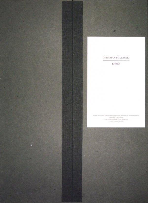 Livres / Christian Boltanski